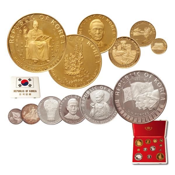 '5000年 영광사 기념' 금·은화 12종 세트